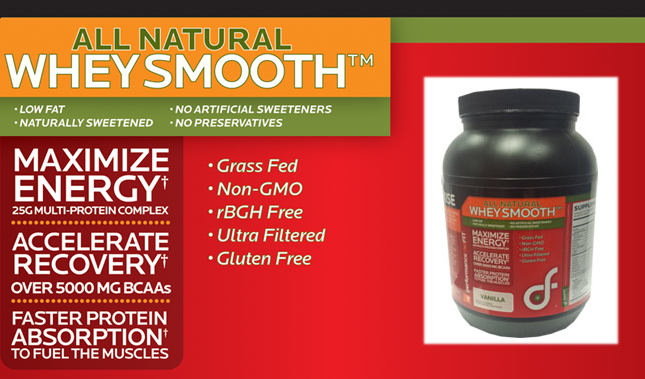 All Natural Whey Smooth Protein